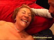 moms first gangbang orgy