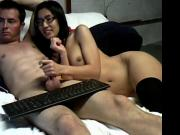 Asian girl white guy on webcam 2