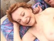 Real RedHead Granny Fucking 70yo