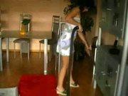 Bei der Hausarbeit