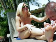 Pool Repair Service with Goddess Parker Swayze