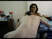 Sexy Asian Chick Fucked by Mature Guy
