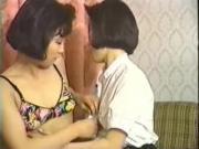 Amateur Korean Lesbians in an FFM