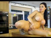 Big Tit European Babe vs Big Dick