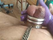 DIRTY GARDENBOY COCKRING LATEX JERKING