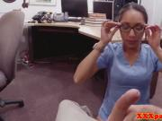 Black spex nurse cocksucks pawnbroker pov