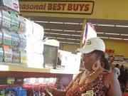 Black granny upskirt Pt 2