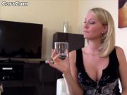 POV blonde german wife in amateur porno