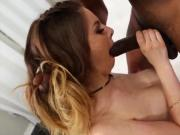 This Busty Babe Knows How To Pleasure a Big Black Cock