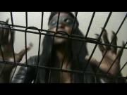 caged POV to black femdom