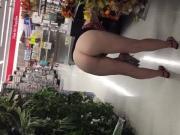 Public flashing slut