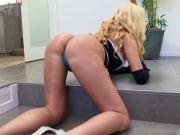 Big Ass MILF Summer Brielle Squirts On BBC
