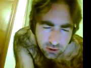 Hot hirsute spanish guy showing and jerking off