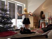 Leons Angels See Through Yoga Pants Tiniest Teen Thongs