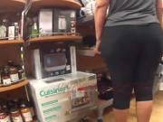 Chunky Phat Ass Cuban MILF In Black Spandex Pt. 1