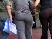 Candid ass in pants milfs