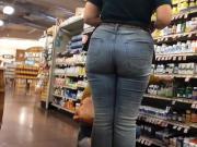 Teen Pawg plump ass with wedgie