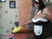 Fat ass maid with heavy tits