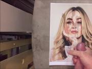 Sabrina Carpenter Cum Tribute 017