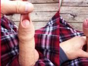penis sur la terrasse