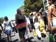 Bay To Breakers: Topless Asian Honey