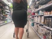 Big Butt Pawg Black Skirt
