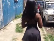 Nice ass mini skirt