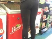 Fit Latina Candid Teen Booty