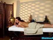 Alluring massage babe banged by her masseur
