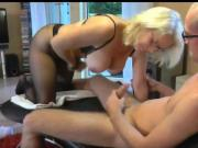Big Titted Amateur Mature Sucks and Fucks Like a PRO