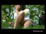 Pornocaps Midweek Minis #4 - Public Park Uppie!