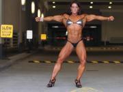 Muscular Woman Posing