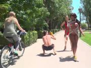 Sexy Sunny Star Fucked in Sunny Spain