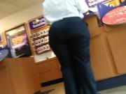 Bbw big booty sercuity guard