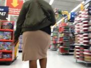 Juicy Ghetto Booty in Skirt