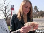 Public Pick Ups - Euro Blonde Licks the Tip starring Ivana