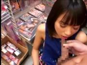 Thinking of wathing AV and the Store Clerk Was Haruka Itoh 1