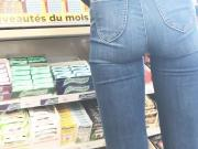 Voyeur sexy ass in tight jeans Part two