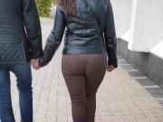 Big butts milfs in tight pants