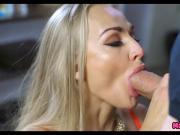 Tattoed Blonde Wife wants a Big Cock