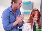 Redhead slut Krystal Orchid enjoys banging with her teacher