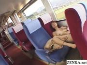 JAV risky train sex with busty cheating wife Subtitled