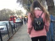 Sexy Fuckdoll walking home North London White sugar