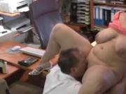 Naughty BBW Wife Came For Interview and Almost Failed It