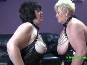 Granny Kim has a lesbian face sitter
