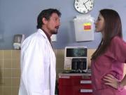 Twistys - Tommy GunnLizz Tayler starring at Doctor Heal Thys