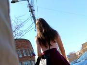 Upskirt at the street 22