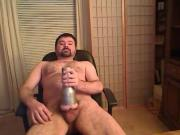 bear jerking off 3