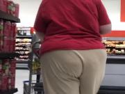 Bbw granny in sweats
