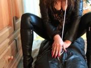 Handjob Torture Long Red Nails